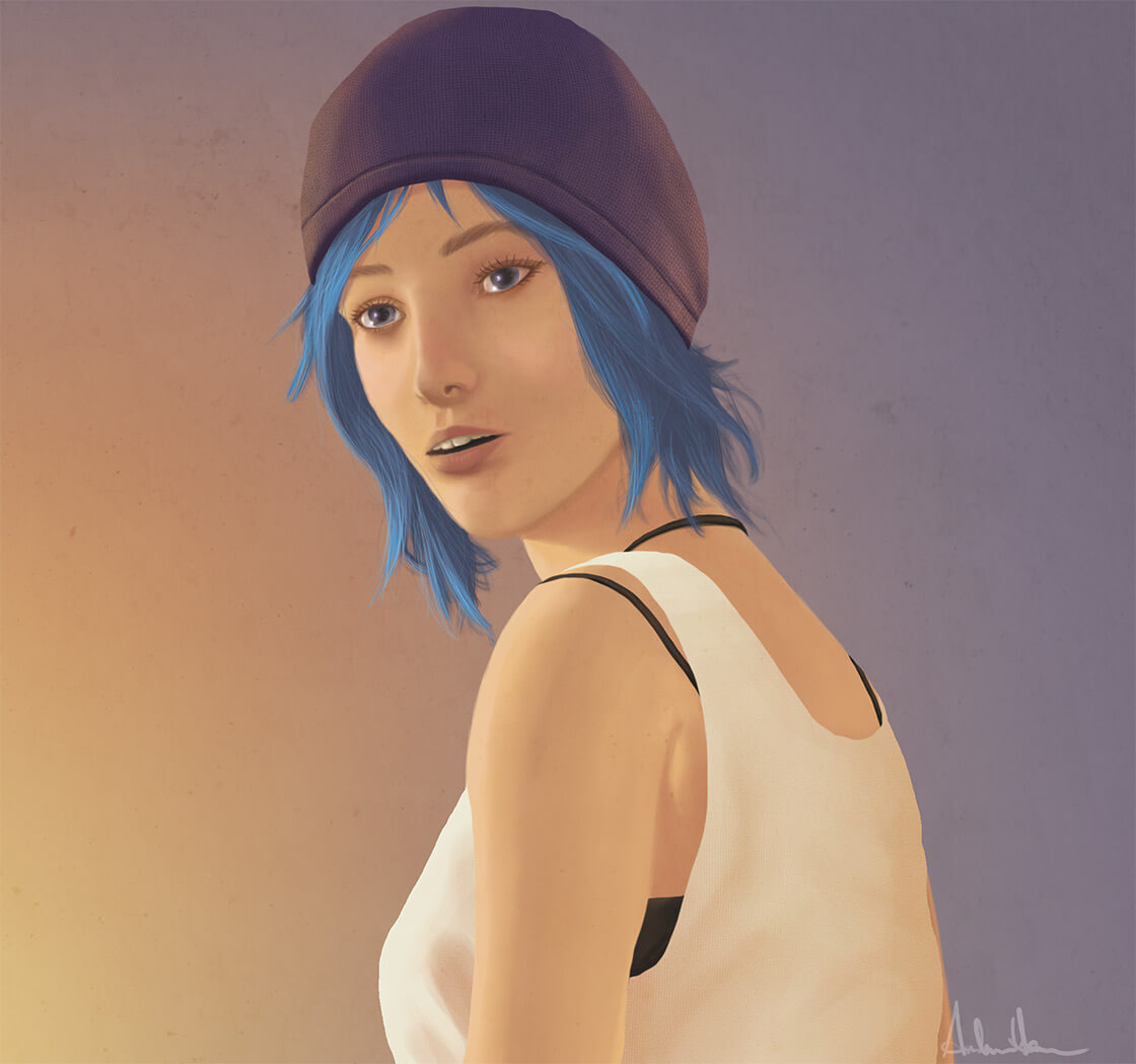 Life is Strange: Chloe Portrait (Sunset)